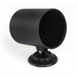 Halter Halterung für Zusatzinstrument 60mm mit verstellbarem Standfuß schwarz