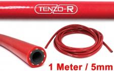Tenzo-R Performance Silikon Schlauch verstärkt Länge 1M rot 5mm