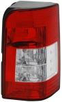 Rückleuchte / Heckleuchte rot weiß rechts TYC für Peugeot Partner 05-08