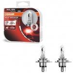 Osram Night Breaker Silver H4 60/55W 12V Halogen Leuchtmittel 100% 2 Stück