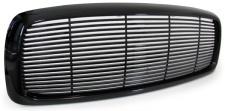 Sport Kühlergrill Grill ohne Emblem schwarz für Dodge Ram 02-05