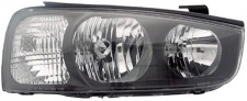 H1 / H7 Scheinwerfer rechts TYC für Hyundai Elantra 00-03