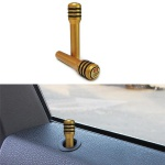 Aluminium Türpinne geschraubt STW Limited Edition gold Paar für Opel