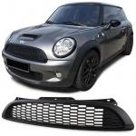Sport Kühlergrill S Optik schwarz matt für Mini Cooper R55 R56 R57 R58 06-13