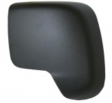 Spiegelkappe schwarz links für PEUGEOT Bipper 08-