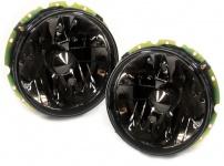 Schwarze Klarglas Scheinwerfer für VW Golf 1 + Cabrio