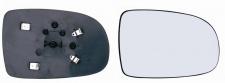 Spiegelglas beheizbar rechts für OPEL Corsa C 00-06