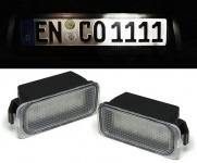 LED Kennzeichenbeleuchtung weiß 6000K für Ford Focus 2 3 Fiesta 6 Jaguar XJ XF