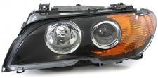 XENON D2S H7 SCHEINWERFER SCHWARZ BLINKER GELB LINKS FÜR BMW 3ER E46 Coupe Cabrio