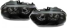 Klarglas Scheinwerfer schwarz für ALFA Romeo 156 97-03