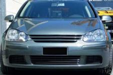 Grill Kühlergrill ohne Emblem für VW Golf 5 03-08
