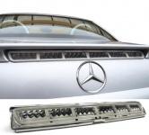 3. Bremsleuchte Klarglas chrom für Mercedes SLK R170 + CLK W208