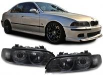 Xenon Scheinwerfer D2S HB3 mit Blinker schwarz - Paar für BMW 5er E39 95-00