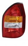 Rückleuchte / Heckleuchte rechts TYC für Opel Zafira A 99-02