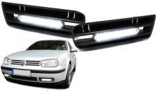 LED Tagfahrleuchten Tagfahrlichter mit Rahmen für VW Golf 4
