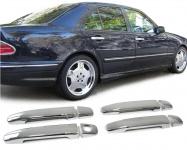 Türgriff Blenden Abdeckungen Cover chrom für Mercedes-Benz W210 95-02 C W202 93-01