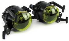Nebelscheinwerfer HB4 Gelb für BMW 5er E60 E61 03-10 mit M Paket Stoßstange