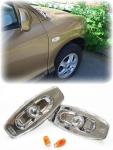 Klarglas Seitenblinker chrom für Hyundai Santa Fe 00-06