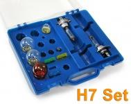 KFZ Leuchtmittel Glühbirnen und Sicherungen Ersatz H7 Set 12v 10 teilig