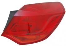 Rückleuchte / Heckleuchte Aussen rot rechts TYC für Opel Astra J 09-