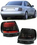 LED Rückleuchten Klarglas Schwarz für Audi A4 B5 8D Limousine 94-00