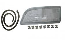 Scheinwerferglas Streuscheibe H4 links TYC für Volvo S40 95-03