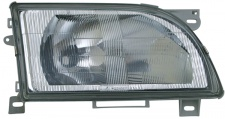 H4 Scheinwerfer grau rechts TYC für Ford Transit 91-00