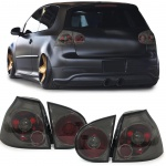 Klarglas Rückleuchten smoke schwarz für VW Golf 5 Limousine 03-08