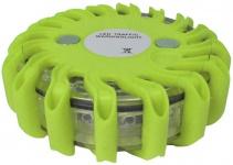 LED Warnleuchte Rundumleuchte Absicherung Warnblitzer grün