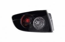 RÜCKLEUCHTE HECKLEUCHTE AUSSEN SCHWARZ LINKS TYC FÜR MAZDA 3 Limousine BK 06-09