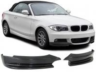Carbon Front Flaps Splitter Spoiler Performance für BMW 1ER E82 E88 ab 11