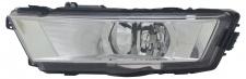 Nebelscheinwerfer Links für Skoda Rapid 12-