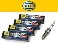 Zündkerzen Hella Iridium Pro IMJ8RC-8P Set 4 Stück für BMW Opel Saab Subaru