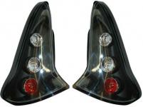 Klarglas Rückleuchten schwarz für Citroen C4 04-09