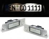 LED Kennzeichenbeleuchtung weiß 6000K für Audi A4 8D2 B5 Limousine 94-00