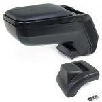 Mittel Konsole Armlehne verstellbar mit Ablagefach schwarz für Ford Focus II