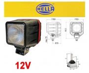 Hella Powerxen Xenon Arbeits Scheinwerfer 12v mit Steuergerät Leuchtmittel