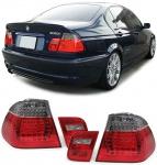 LED Rückleuchten rot schwarz für BMW 3ER E46 Limousine 98-01