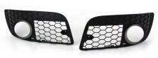 GTI Nebelscheinwerfer Blenden Abedeckungen Gitter für VW Golf 5 04-08
