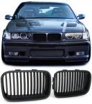 Nieren Grill Sport Ausführung schwarz für BMW 3ER E36 90-96