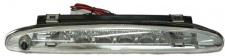 3. LED Bremsleuchte Klarglas chrom für Renault Twingo 02-07