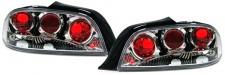 Klarglas Rückleuchten chrom für Peugeot 306 Cabrio 94-02