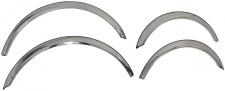 Abdeckungen Radlauf chrom für Mercedes S Klasse W221 05-12