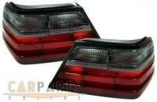 Rot schwarze Rückleuchten für Mercedes W124