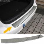 Ladekantenschutz Stoßstangenschutz Edelstahl matt für Opel Vivaro Kombi J7 ab 01
