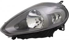 H4 / P21W Scheinwerfer Anthrazit links TYC für FIAT Punto 199 12-