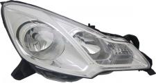 H1 / H7 Scheinwerfer weiße Blende rechts TYC für Citroen DS3 09-