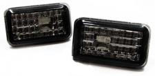 Klarglas Seitenblinker schwarz für VW Golf Polo Jetta Corrado Scirocco