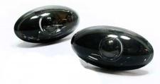 Klarglas Seitenblinker schwarz Blackchrom für Citroen C2 C3 C5 Xsara
