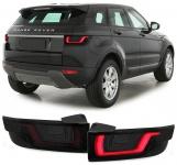 Dynamic LED Lightbar Rückleuchten schwarz smoke für Range Rover Evoque LV 11-15